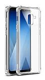 Dafoni Hummer Samsung Galaxy J6 Ultra Koruma Silikon Kenarlı Şeffaf Kılıf