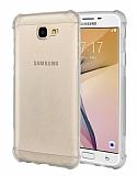 Dafoni Hummer Samsung Galaxy J7 Prime / Prime 2 Ultra Koruma Silikon Kenarlı Şeffaf Kılıf