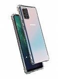 Dafoni Hummer Samsung Galaxy M31S Ultra Koruma Silikon Kenarlı Şeffaf Kılıf