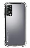 Dafoni Hummer Xiaomi Mi 10T / Mi 10T Pro Silikon Kenarlı Şeffaf Kılıf