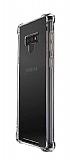 Dafoni Hummer Samsung Galaxy Note 9 Ultra Koruma Silikon Kenarlı Şeffaf Kılıf