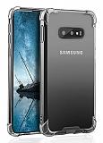 Dafoni Hummer Samsung Galaxy S10e Ultra Koruma Silikon Kenarlı Şeffaf Kılıf