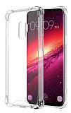 Dafoni Hummer Samsung Galaxy S9 Plus Ultra Koruma Silikon Kenarlı Şeffaf Kılıf