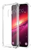 Dafoni Hummer Samsung Galaxy S9 Ultra Koruma Silikon Kenarlı Şeffaf Kılıf