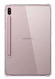 Dafoni Hummer Samsung Galaxy Tab S7 Plus T970 Ultra Koruma Silikon Kenarlı Şeffaf Kılıf