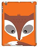 Dafoni iPad 2 / iPad 3 / iPad 4 Big Face Fox Smart Cover Uyumlu Rubber K�l�f