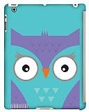 Dafoni iPad 2 / iPad 3 / iPad 4 Big Face Owl Smart Cover Uyumlu Rubber K�l�f