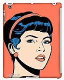 Dafoni iPad 2 / iPad 3 / iPad 4 Urban Girl Smart Cover Uyumlu Rubber K�l�f