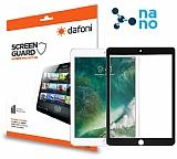 Dafoni iPad Air / iPad Air 2 / iPad 9.7 Nano Glass Premium Tablet Siyah Cam Ekran Koruyucu
