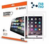 Dafoni iPad Mini / Mini 2 / Mini 3 Nano Glass Premium Tablet Beyaz Cam Ekran Koruyucu
