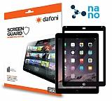 Dafoni iPad Mini / Mini 2 / Mini 3 Nano Glass Premium Tablet Siyah Cam Ekran Koruyucu