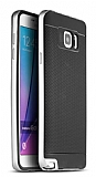 Dafoni iPaky Samsung Galaxy Note 5 Ultra Koruma Silver Kılıf