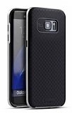 Dafoni iPaky Samsung Galaxy S7 Edge Ultra Koruma Silver Kılıf