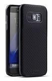 Dafoni iPaky Samsung Galaxy S7 Edge Ultra Koruma Dark Silver Kılıf