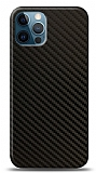 Dafoni iPhone 12 Pro Max Karbon Görünümlü Telefon Kaplama