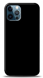 Dafoni iPhone 12 Pro Max Mat Siyah Telefon Kaplama
