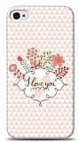 Dafoni iPhone 4 / 4S I Love You K�l�f