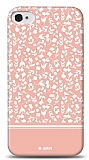Dafoni iPhone 4 / 4S Pink Flower K�l�f