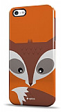 Dafoni iPhone 5 / 5S Big Face Fox Rubber K�l�f