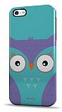 Dafoni iPhone 5 / 5S Big Face Owl Rubber K�l�f