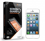 Dafoni iPhone SE / 5 / 5S Ön + Arka Tempered Glass Premium Cam Ekran Koruyucu