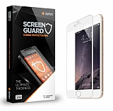 Dafoni iPhone 6 / 6S Curve Tempered Glass Premium Beyaz Full Cam Ekran Koruyucu