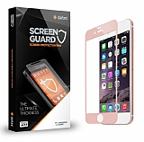 Dafoni iPhone 6 / 6S Curve Tempered Glass Premium Rose Gold Full Cam Ekran Koruyucu