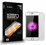 Dafoni iPhone 6 / 6S Tempered Glass Premium Silver Ön + Arka Metal Kavisli Ekran Koruyucu