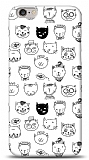 iPhone 6 Cute Cats Kılıf
