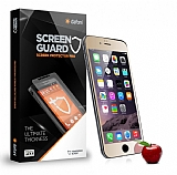 Dafoni iPhone 6 Plus / 6S Plus Ön + Arka Tempered Glass Ayna Gold Cam Ekran Koruyucu