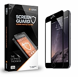 Dafoni iPhone 6 Plus / 6S Plus Curve Tempered Glass Premium Siyah Full Cam Ekran Koruyucu