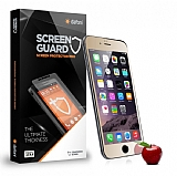 Dafoni iPhone 6 Plus / 6S Plus Tempered Glass Ayna Gold Cam Ekran Koruyucu