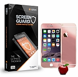 Dafoni iPhone 6 Plus / 6S Plus Ön + Arka Tempered Glass Ayna Rose Gold Cam Ekran Koruyucu