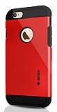 Dafoni iPhone 6 Plus / 6S Plus Slim Power K�rm�z� K�l�f