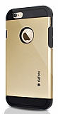 Dafoni iPhone 6 / 6S Slim Power Gold Kılıf