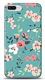 Dafoni iPhone 7 Plus Çiçek Desenli 1 Kılıf