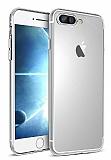 Dafoni iPhone 7 Plus / 8 Plus Kamera Korumalı Şeffaf Silikon Kılıf