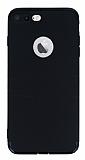 Dafoni iPhone 7 Plus Kamera Korumalı Siyah Silikon Kılıf