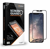 Dafoni iPhone X Curve Tempered Glass Premium Full Siyah Cam Ekran Koruyucu