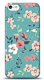 Dafoni iPhone SE / 5 / 5S Çiçek Desenli 1 Kılıf