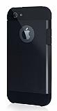 Dafoni iPhone SE / 5 / 5S Slim Power Siyah Kılıf