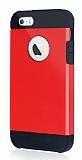 Dafoni iPhone SE / 5 / 5S Slim Power Kırmızı Kılıf