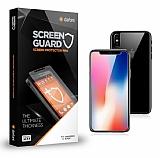 Dafoni iPhone X Tempered Glass Premium Ön + Arka Cam Ekran Koruyucu