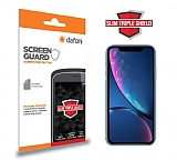 Dafoni iPhone XR Slim Triple Shield Ekran Koruyucu