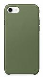 Dafoni Leather iPhone 7 / 8 Yeşil Deri Kılıf