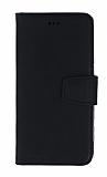 Wachikopa Leather iPhone XR Kapaklı Siyah Gerçek Deri Kılıf