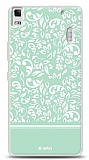 Dafoni lenovo A7000 Green Flower K�l�f