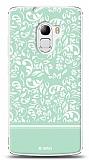 Lenovo A7010 Green Flower Kılıf