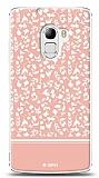Lenovo A7010 Pink Flower Kılıf