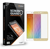 Dafoni Lenovo K6 Note Curve Tempered Glass Premium Gold Full Cam Ekran Koruyucu